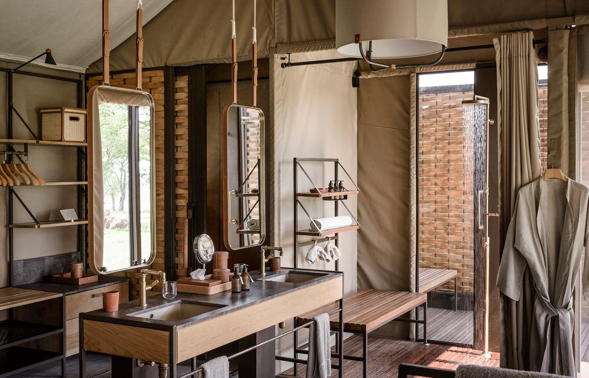 Singita Sabora Tented Camp - Grumeti Serengeti, Tanzania. Hotel Review by TravelPlusStyle. Photo © Singita