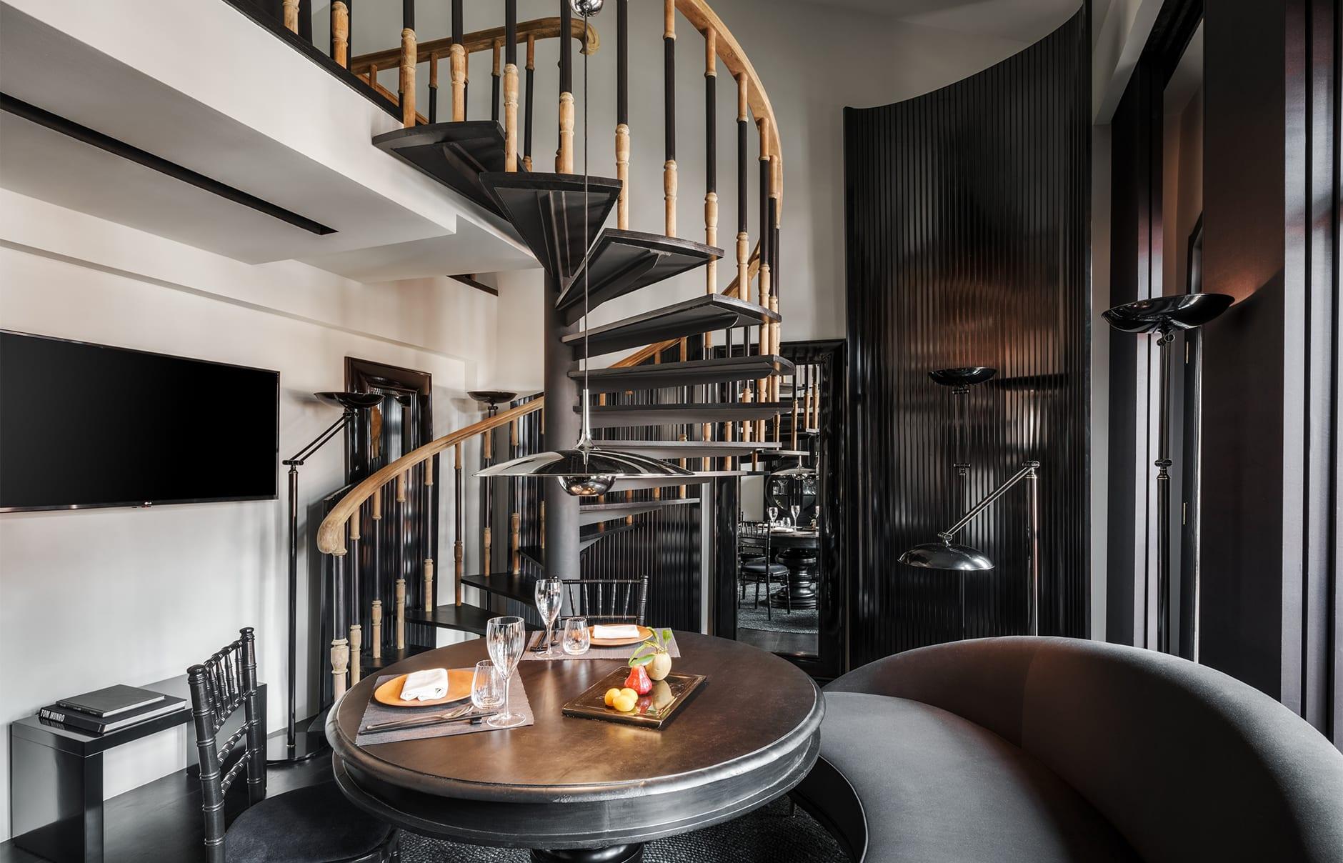 Six Senses Duxton, Singapore. Duxton Duplex Suite. Luxury Hotel Review by TravelPlusStyle. Photo © Six Senses Hotels Resorts Spas