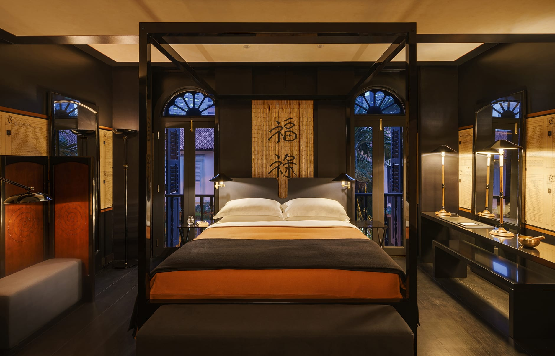 Six Senses Duxton, Singapore. Opium Room. Luxury Hotel Review by TravelPlusStyle. Photo © Six Senses Hotels Resorts Spas