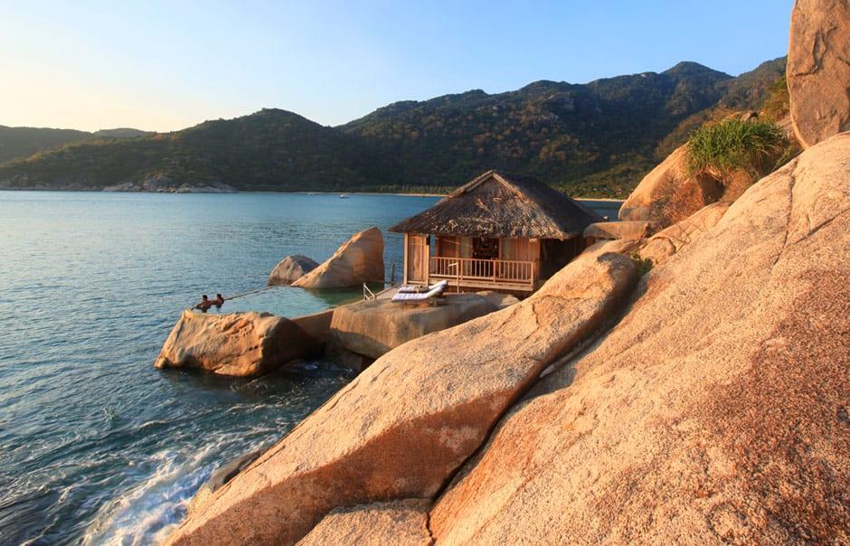 Water Villa. Six Senses Ninh Van, Nha Trang, Vietnam. © Six Senses, fot. Herbert Ypma