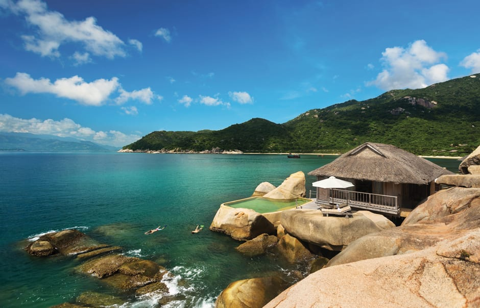 Water Villa. Six Senses Ninh Van, Nha Trang, Vietnam. © Six Senses, fot. Basil Childers
