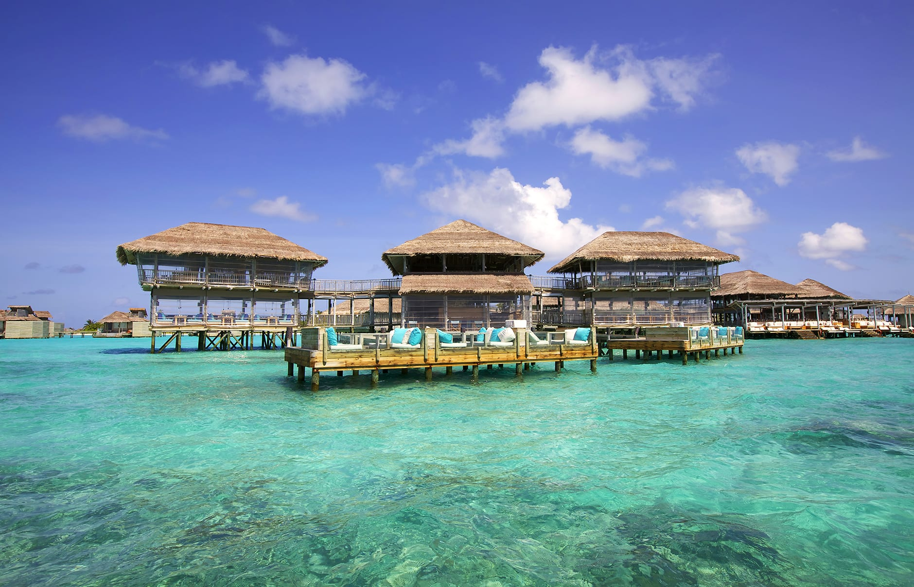 Longitude Restaurant. Six Senses Laamu, Maldives. © Six Senses Resorts & Spas