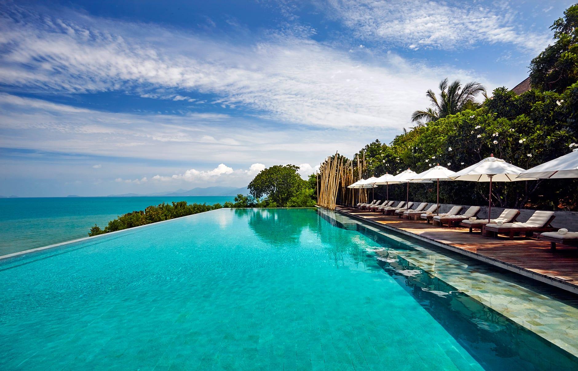 Main pool. Six Senses Samui, Thailand. © Six Senses Resorts & Spas