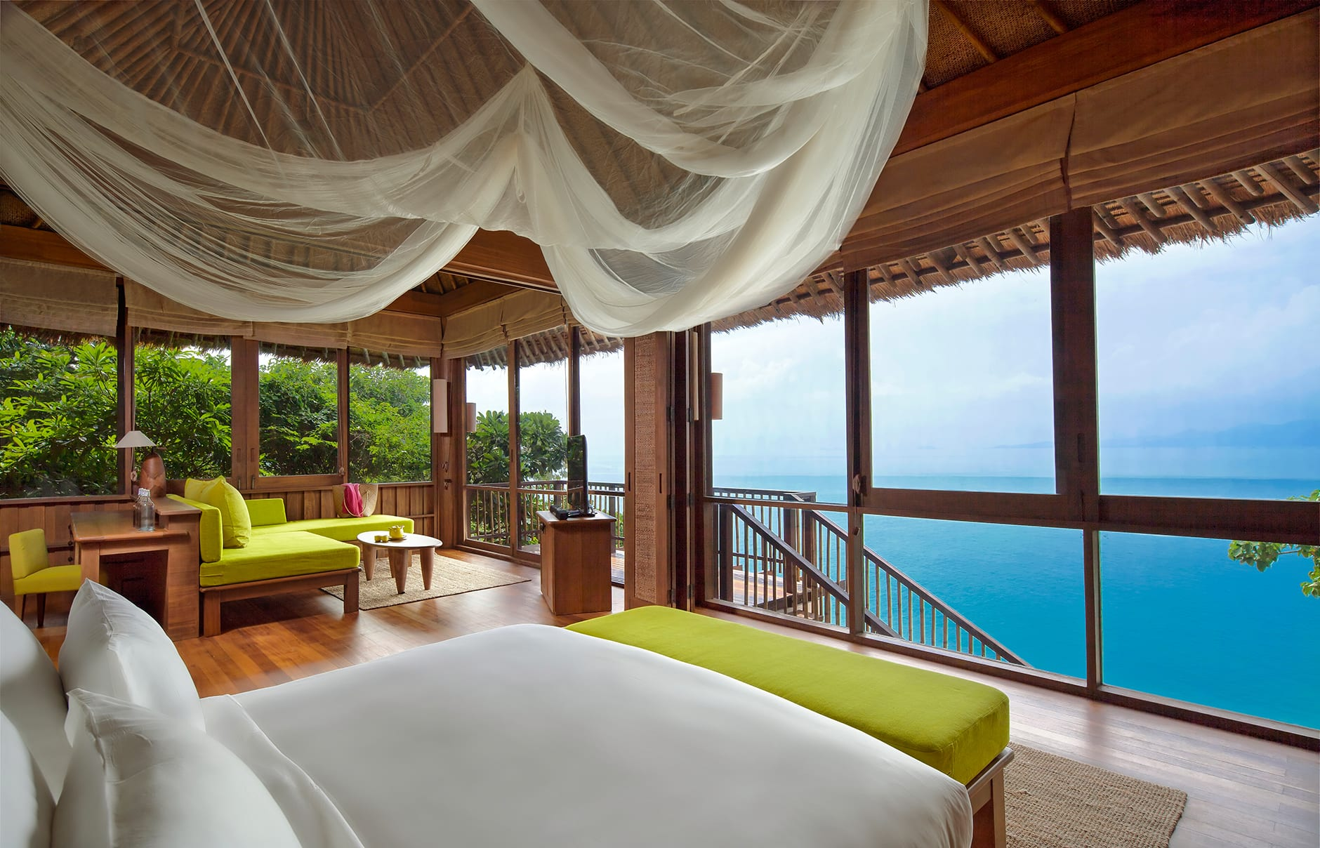 Ocean Front Pool Villa. Six Senses Samui, Thailand. © Six Senses Resorts & Spas