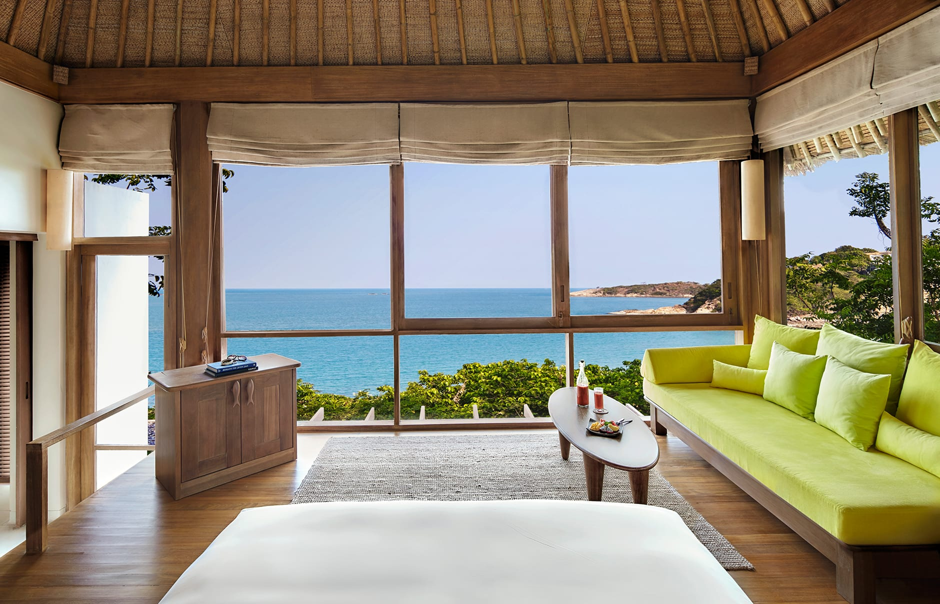 Ocean Front Pool Villa. Six Senses Samui, Thailand. Hotel Review by TravelPlusStyle. Photo © Six Senses Resorts & Spas