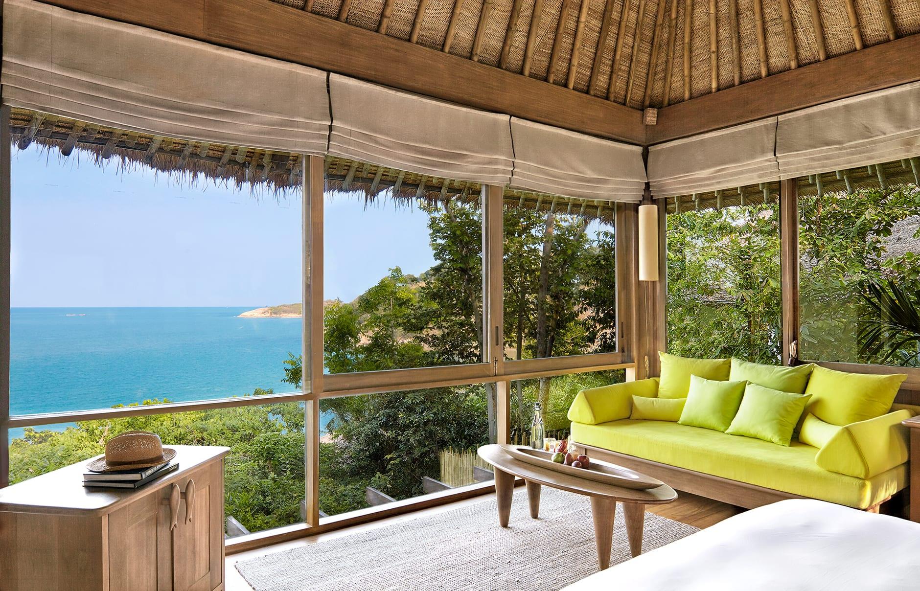 Ocean View Pool Villa. Six Senses Samui, Thailand. © Six Senses Resorts & Spas
