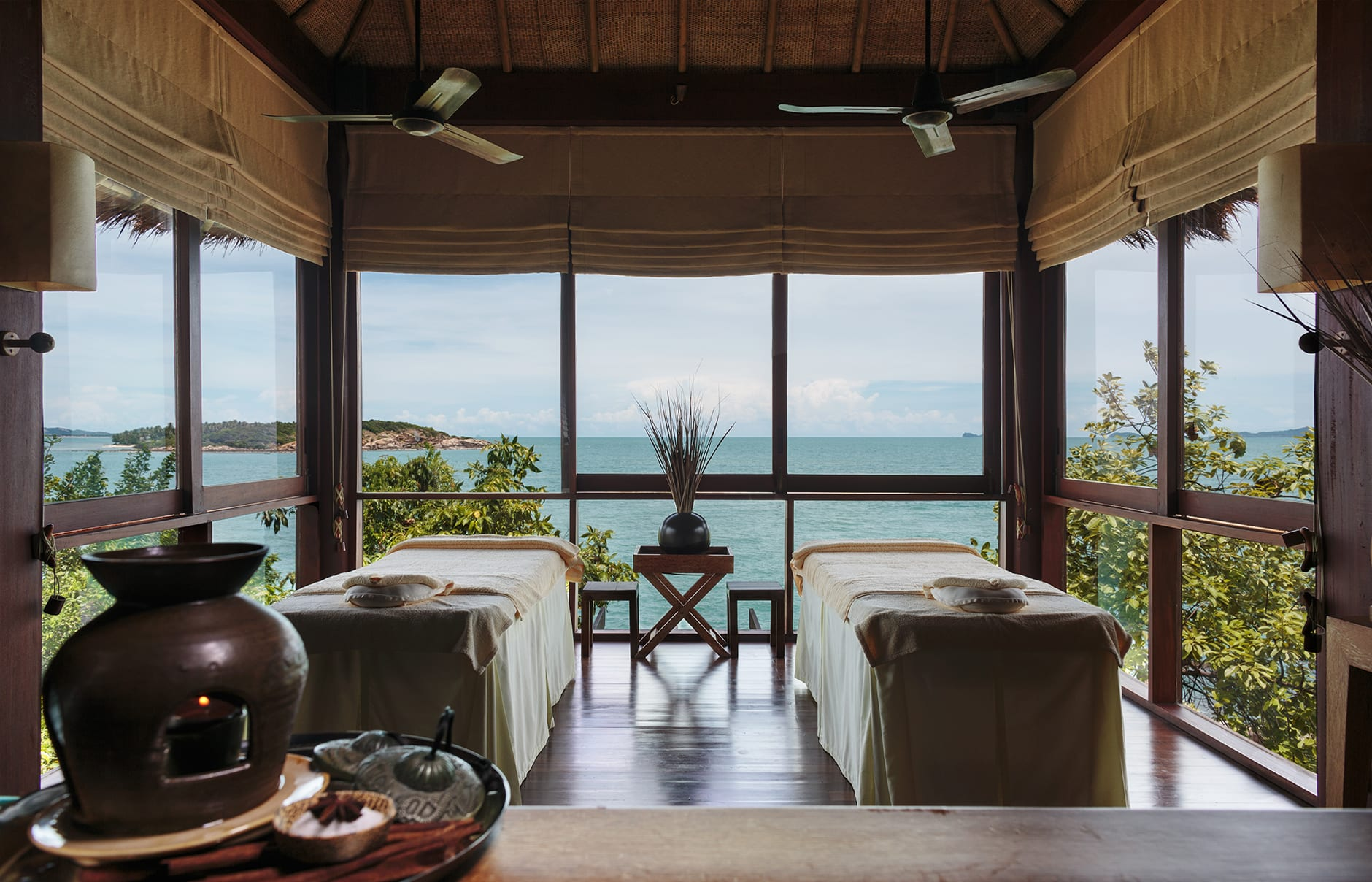 Six Senses Spa. Six Senses Samui, Thailand. © Six Senses Resorts & Spas