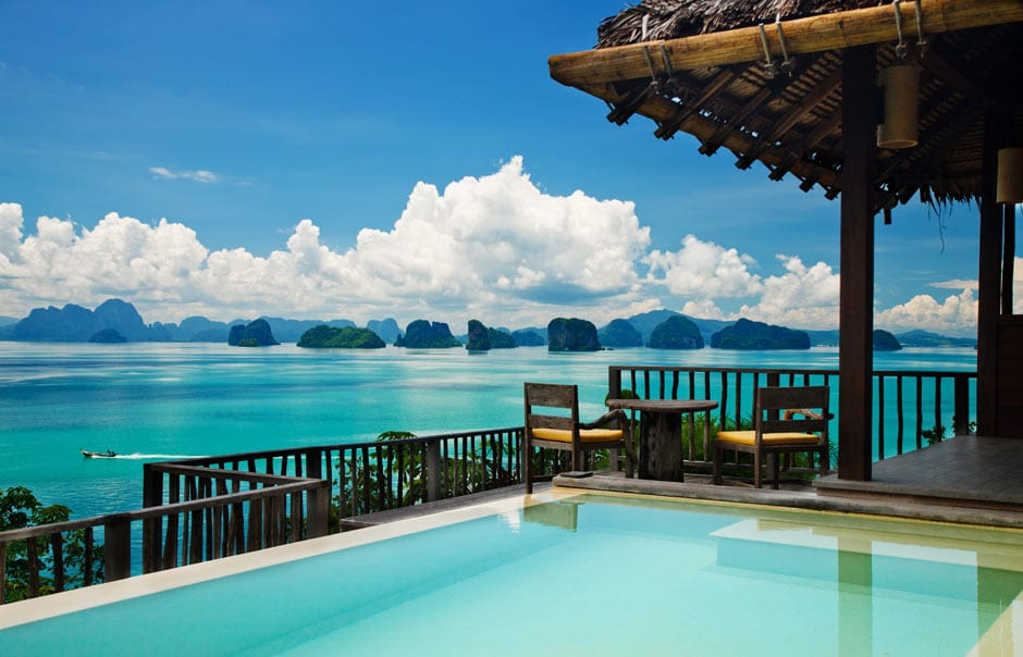 Ocean Panorama Pool Villa. © Six Senses Hotels Resorts Spas