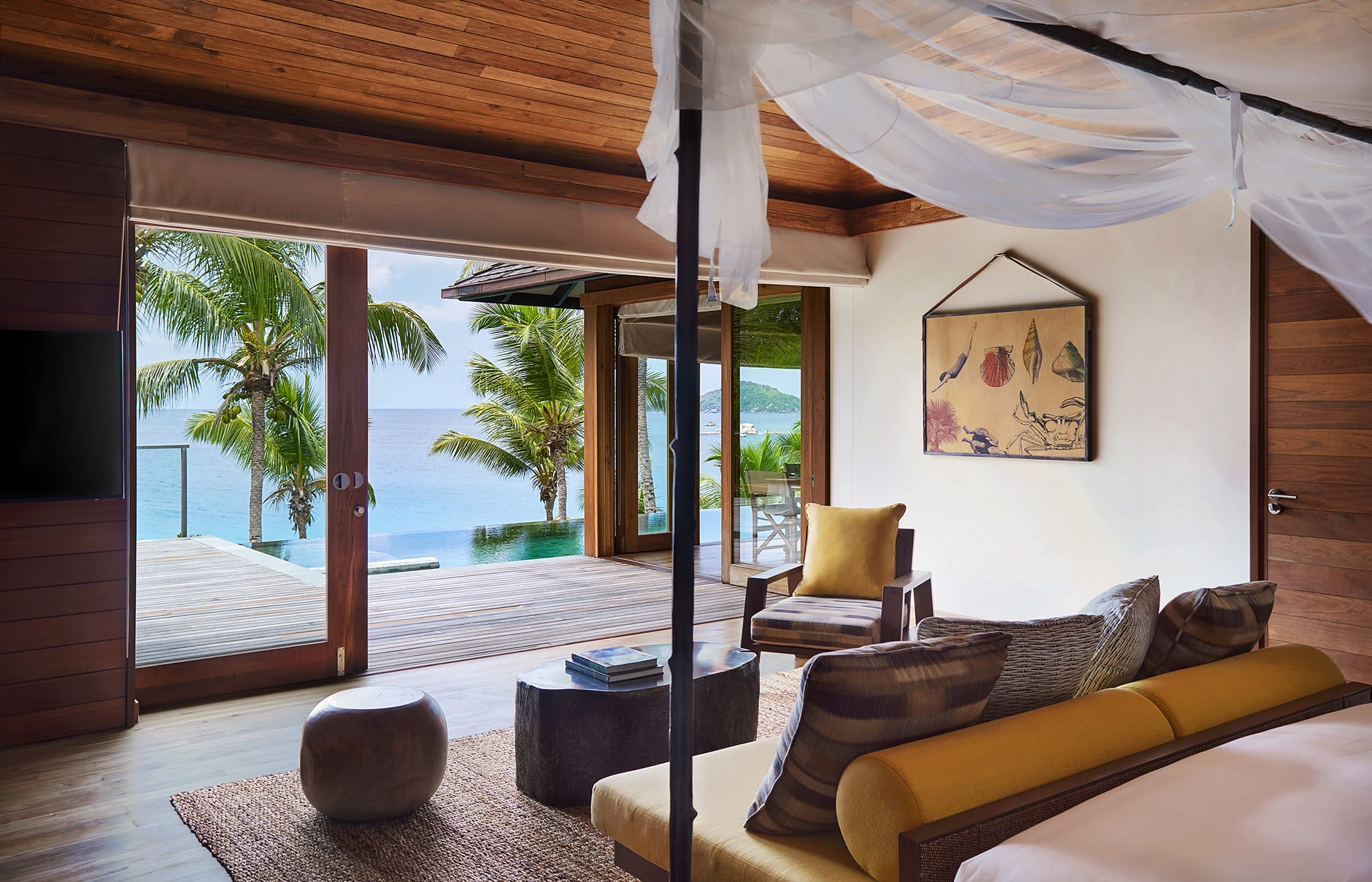 Six Senses Zil Pasyon, Seychelles. © Six Senses Hotels Resorts Spas