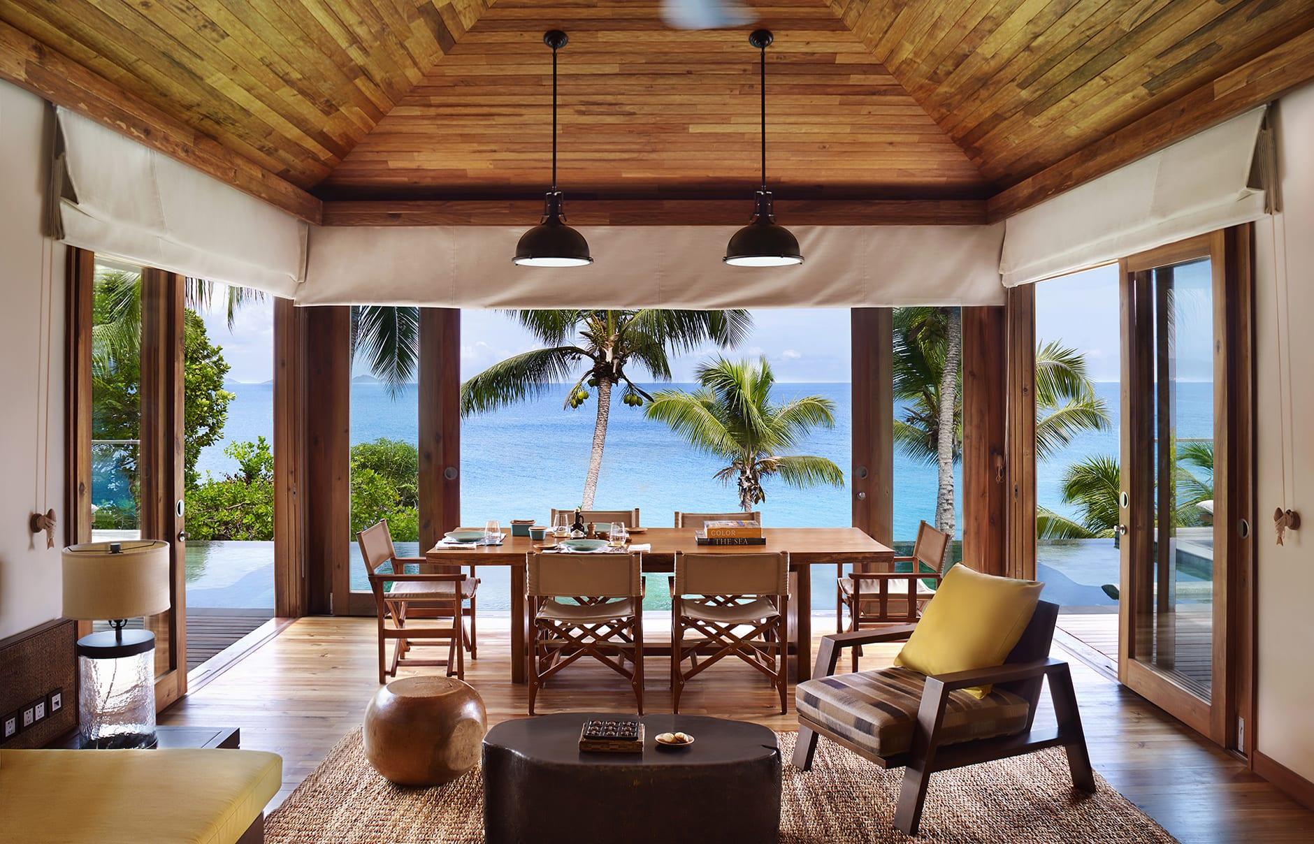 Six Senses Zil Pasyon, Seychelles. © Six Senses Hotels Resorts Spas