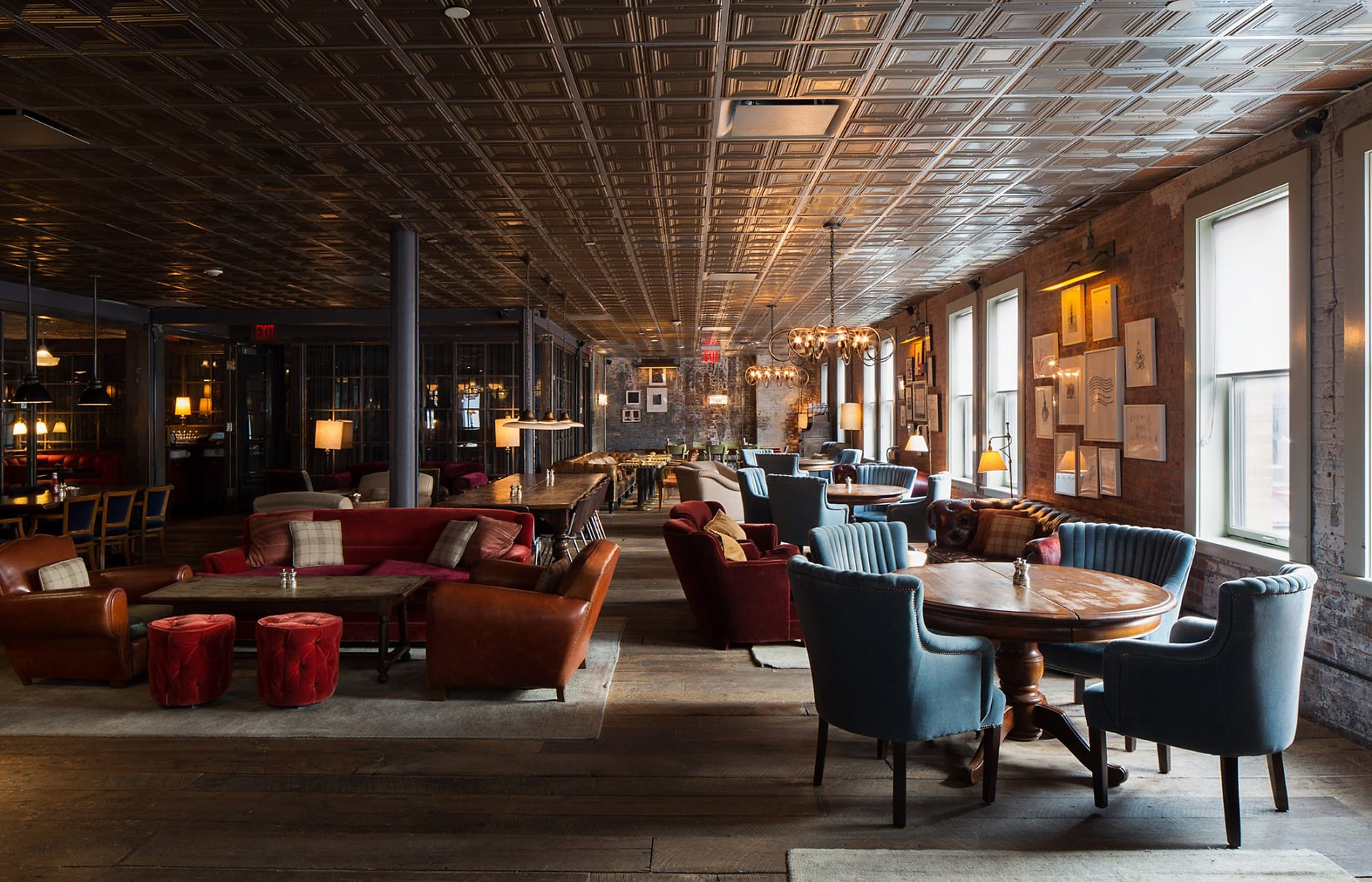 Drawing room. Soho House New York. © Soho House