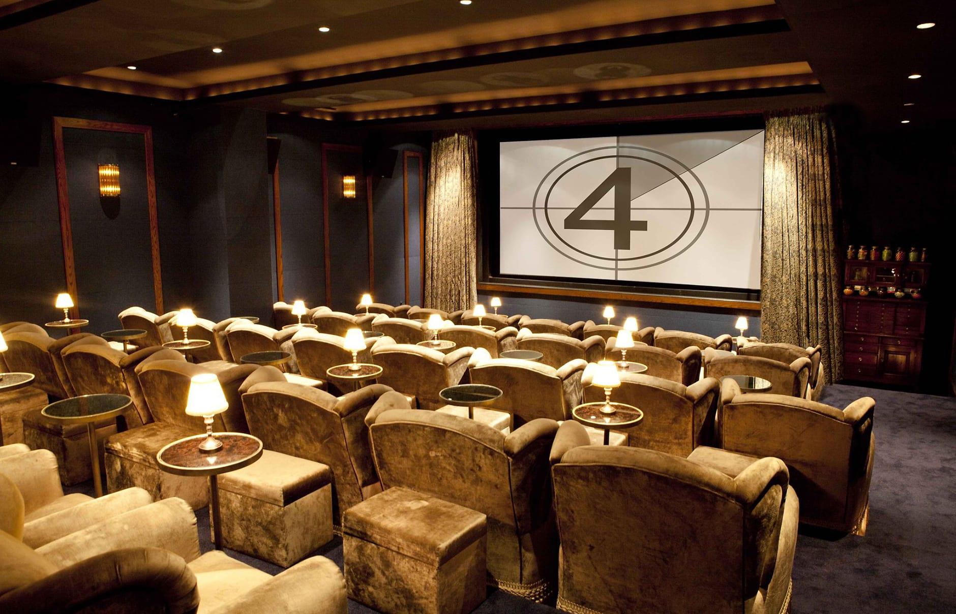 Cinema. Soho House New York. © Soho House