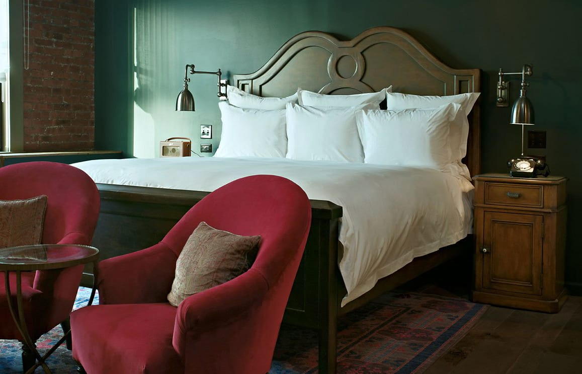 Medium Room. Soho House New York. © Soho House