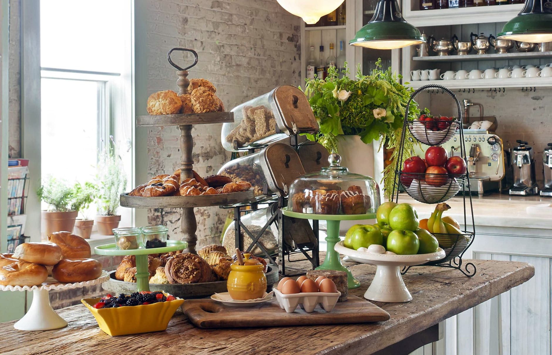 Breakfast Bar. Soho House New York. © Soho House