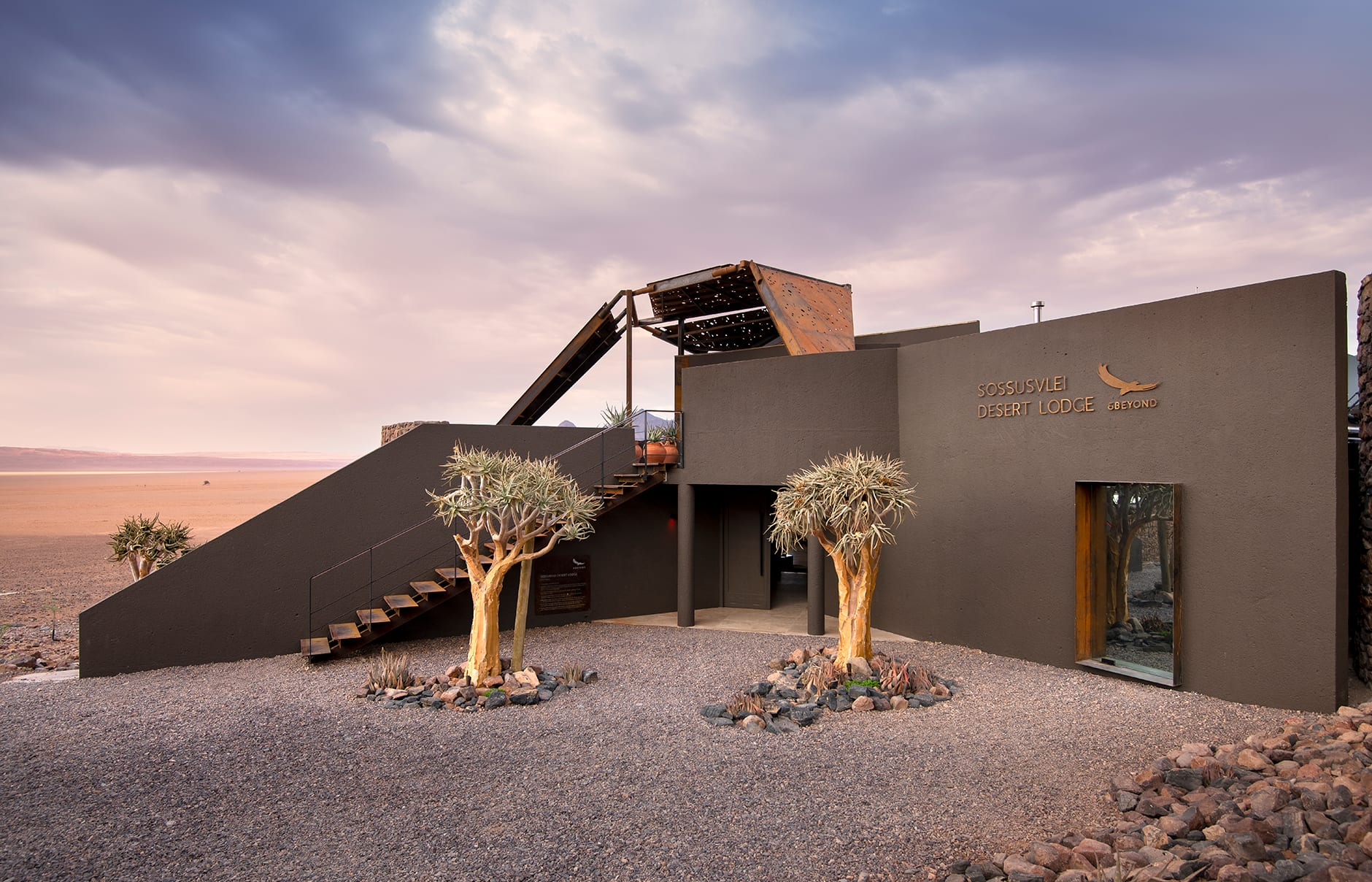 &Beyond-Sossusvlei Desert Lodge, Namibia. Review by TravelPlusStyle. Photo © &Beyond