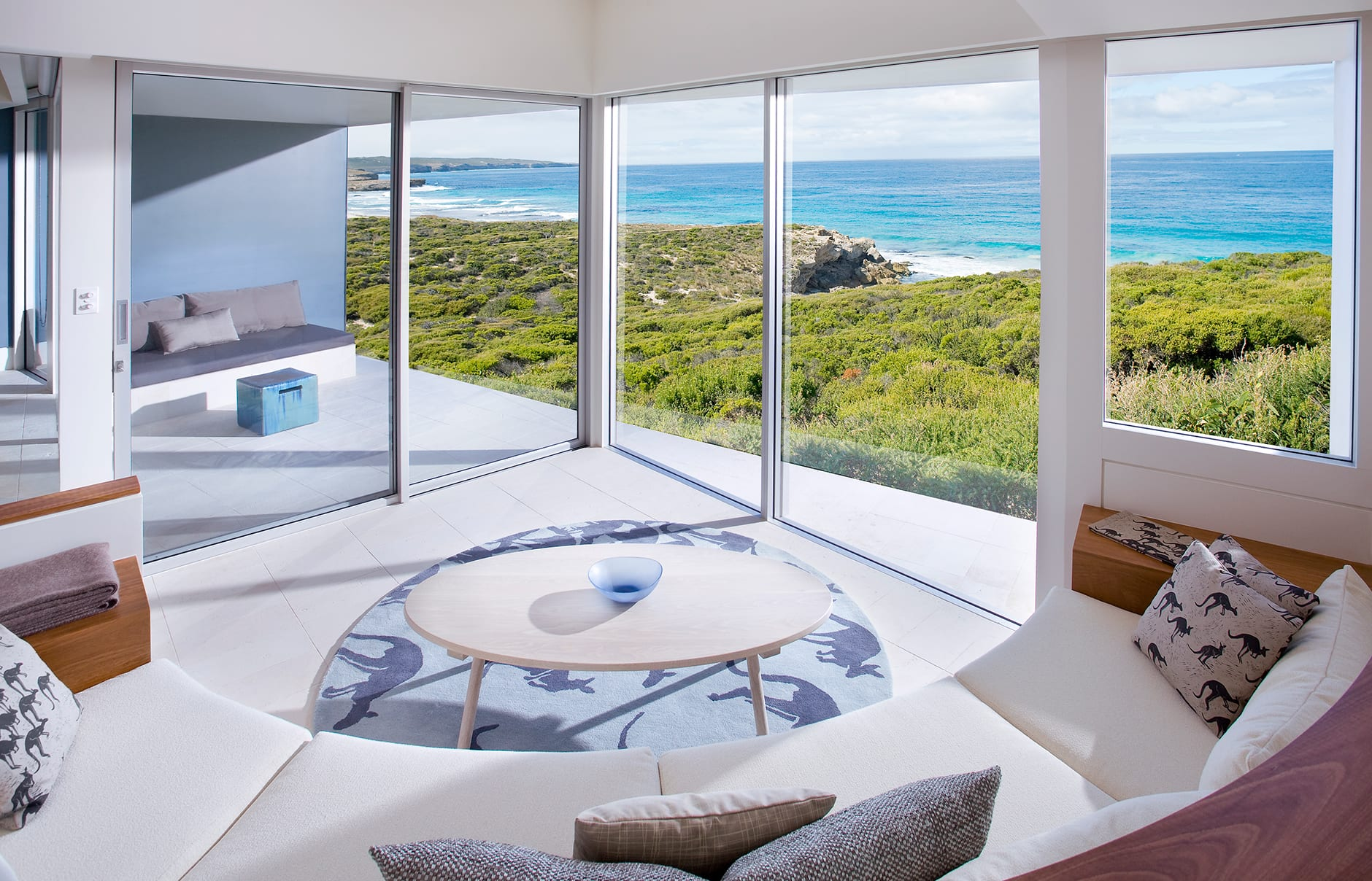Flinders Suite. Southern Ocean Lodge, Kangaroo Island, Australia. © Luxury Lodges of Australia