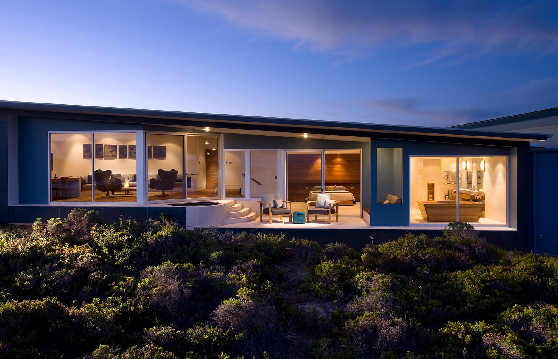Remarkable Suite. Southern Ocean Lodge, Kangaroo Island, Australia. © Luxury Lodges of Australia