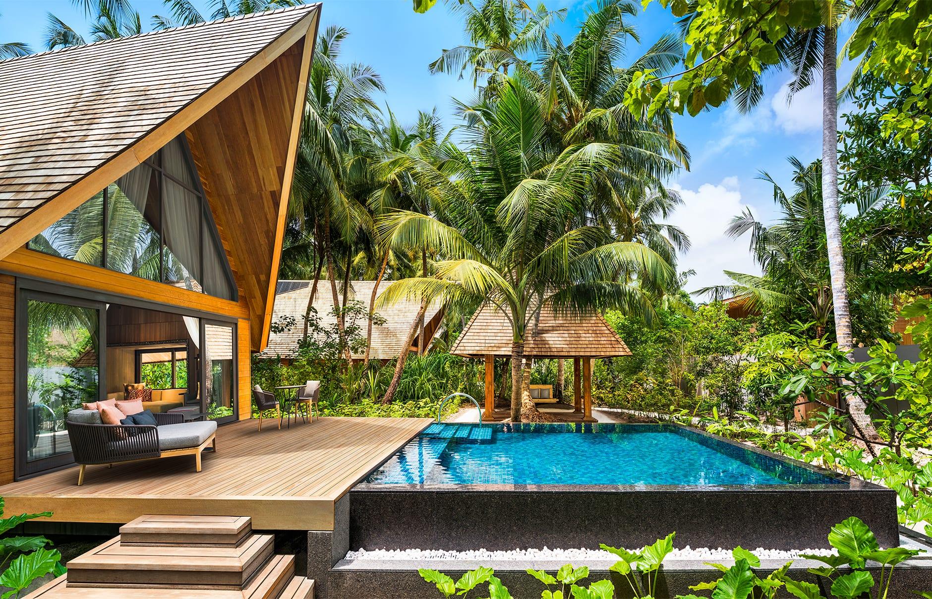 The St. Regis Maldives Vommuli Resort. © Marriott International, Inc.