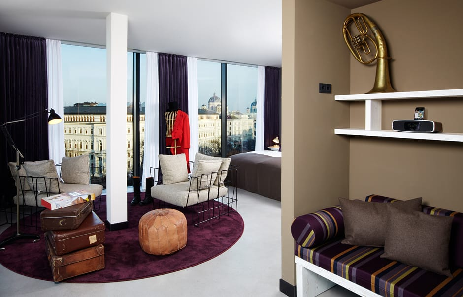 The 25hours Hotel Vienna, Austria. © 25hours Hotels