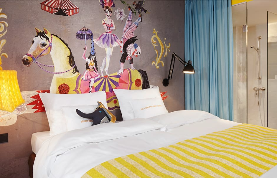 25hours Hotel Vienna at MuseumsQuartier, Austria. Hotel Review. Photo © 25hours Hotels