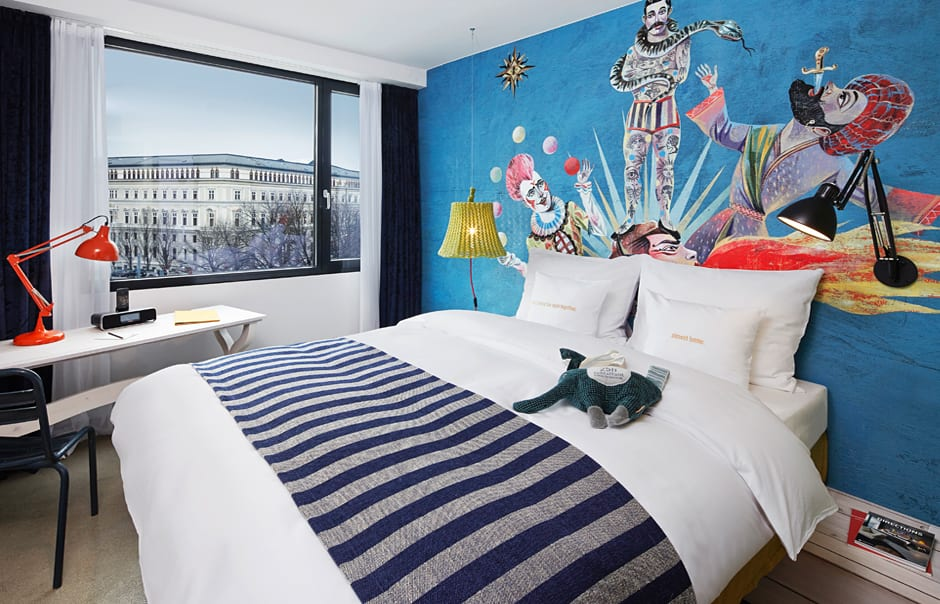 M-Room Plus. The 25hours Hotel Vienna, Austria. © 25hours Hotels