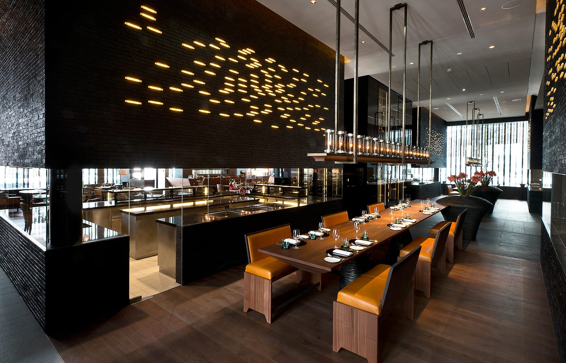 Chefs Table. The Chedi Andermatt, Switzerland. © GHM