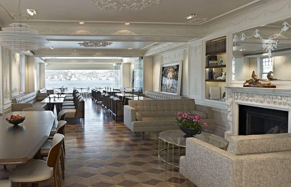 Bosphorus Lounge Bar. The House Hotel Bosphorus, Istanbul. ©The House Hotel