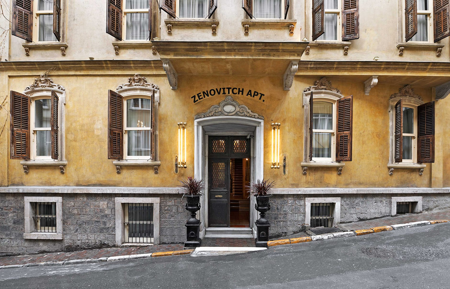 Exterior. The House Hotel Galatasaray, Istanbul. ©The House Hotel