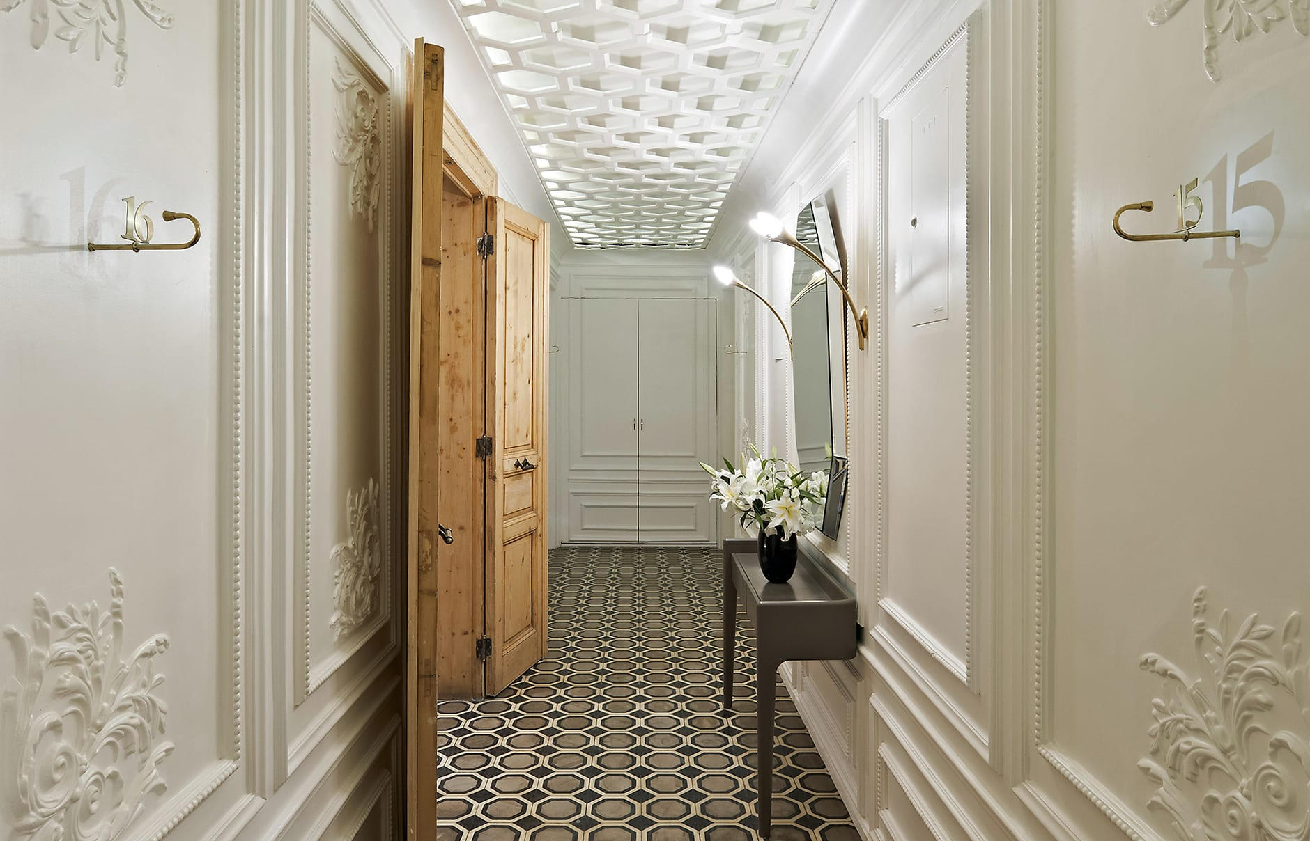 Hallway. The House Hotel Galatasaray, Istanbul. ©The House Hotel