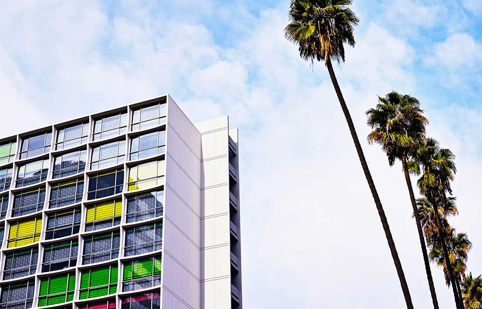 The Line, Los Angeles, USA. © The Line Hotel