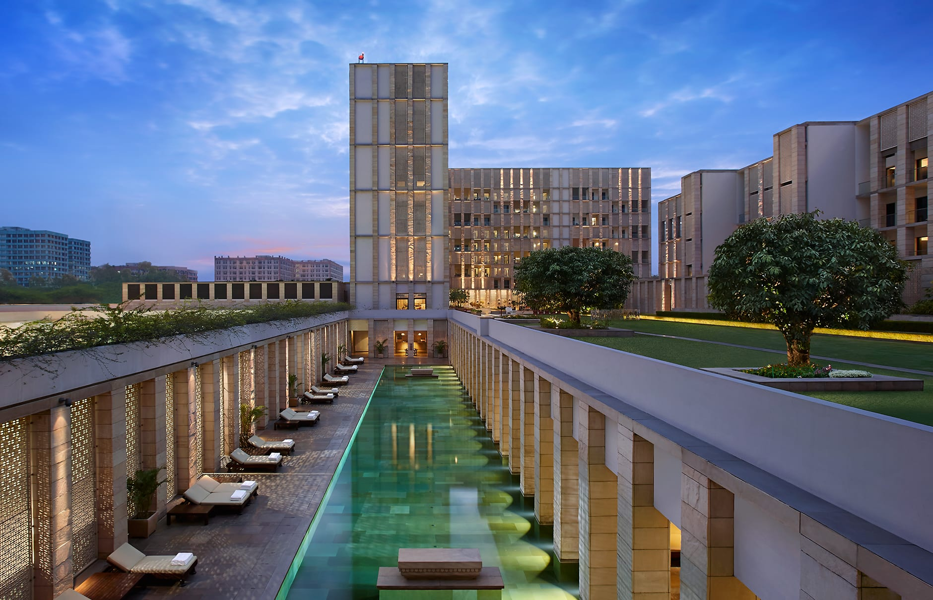 The Lodhi, New Delhi, India. Hotel Review by TravelPlusStyle. Photo © The Lodhi