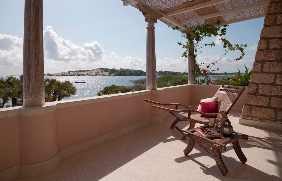 View from balcony Deluxe Room Villa Kusi © The Majlis Lamu
