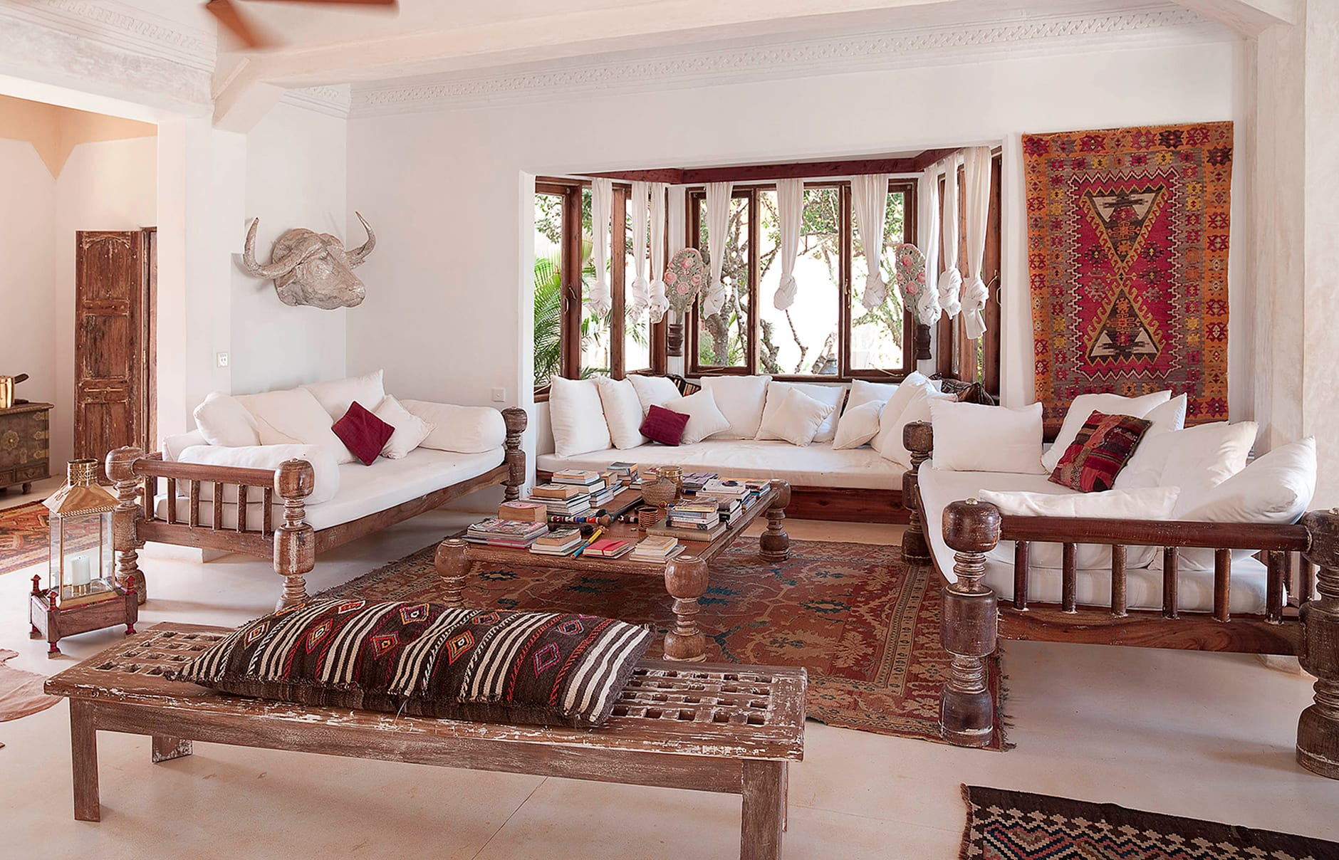 The Majlis, Lamu, Kenya. Hotel Review by TravelPlusStyle. Photo © The Majlis Hotel