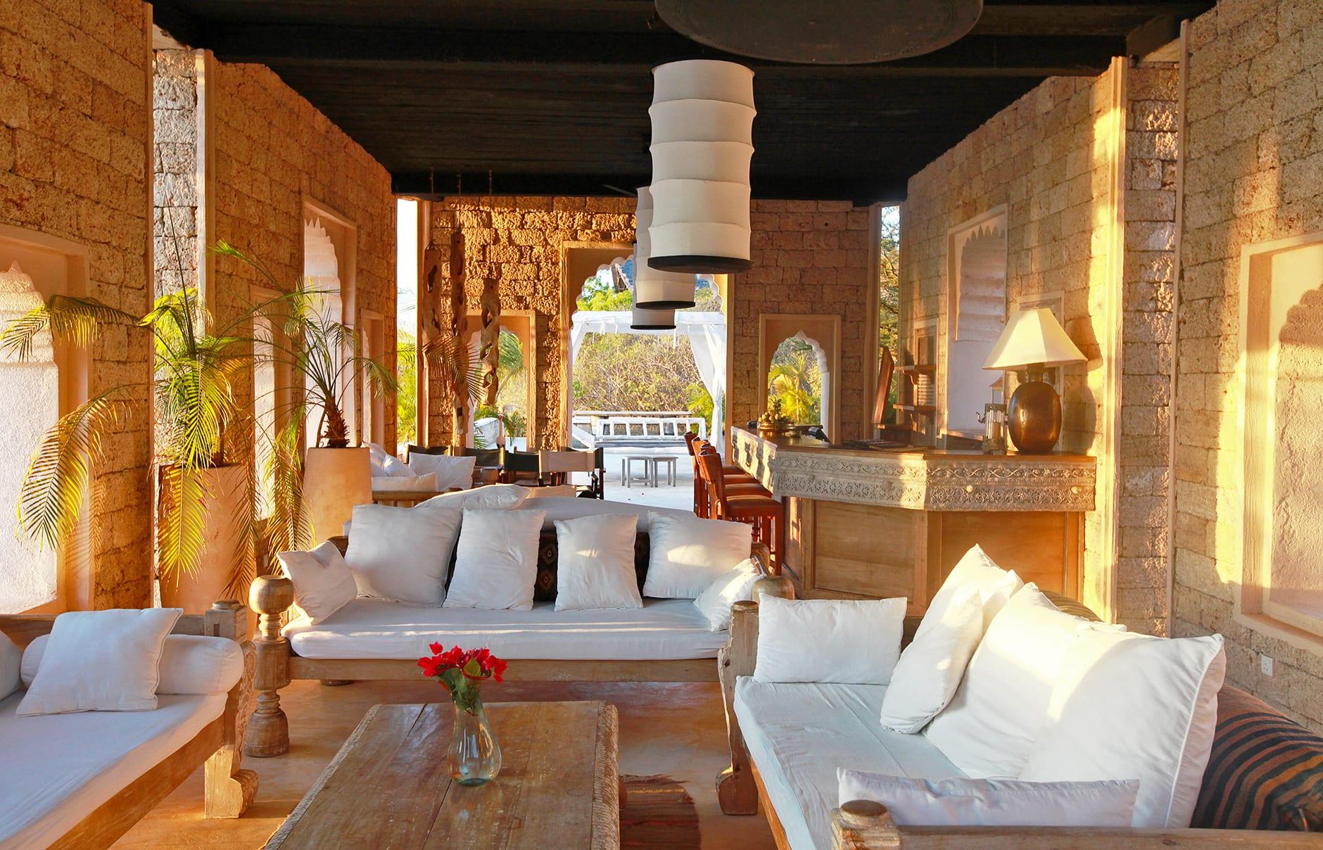 The Majlis, Lamu, Kenya. Hotel Review by TravelPlusStyle. Photo © The Majlis Hotel