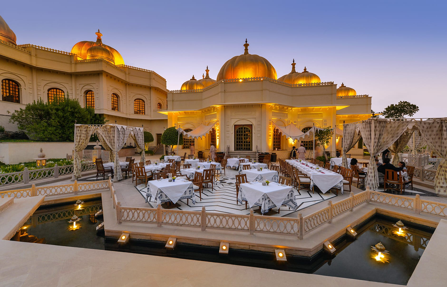 The Oberoi Udaivilas, Udaipur, India. © Oberoi Hotels & Resorts