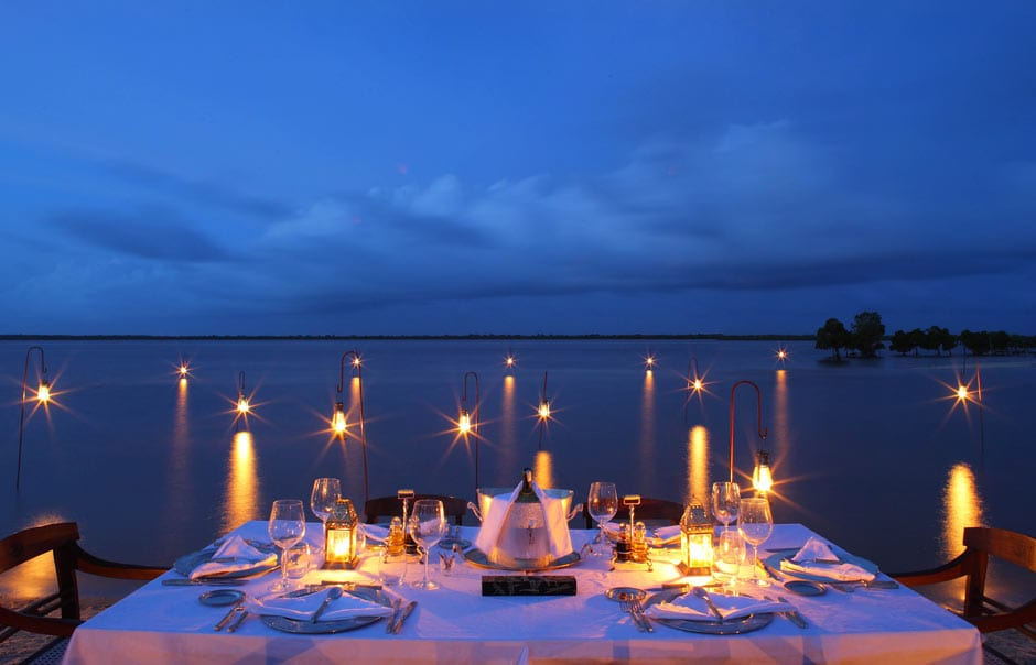 Dining © The Red Pepper House, Lamu