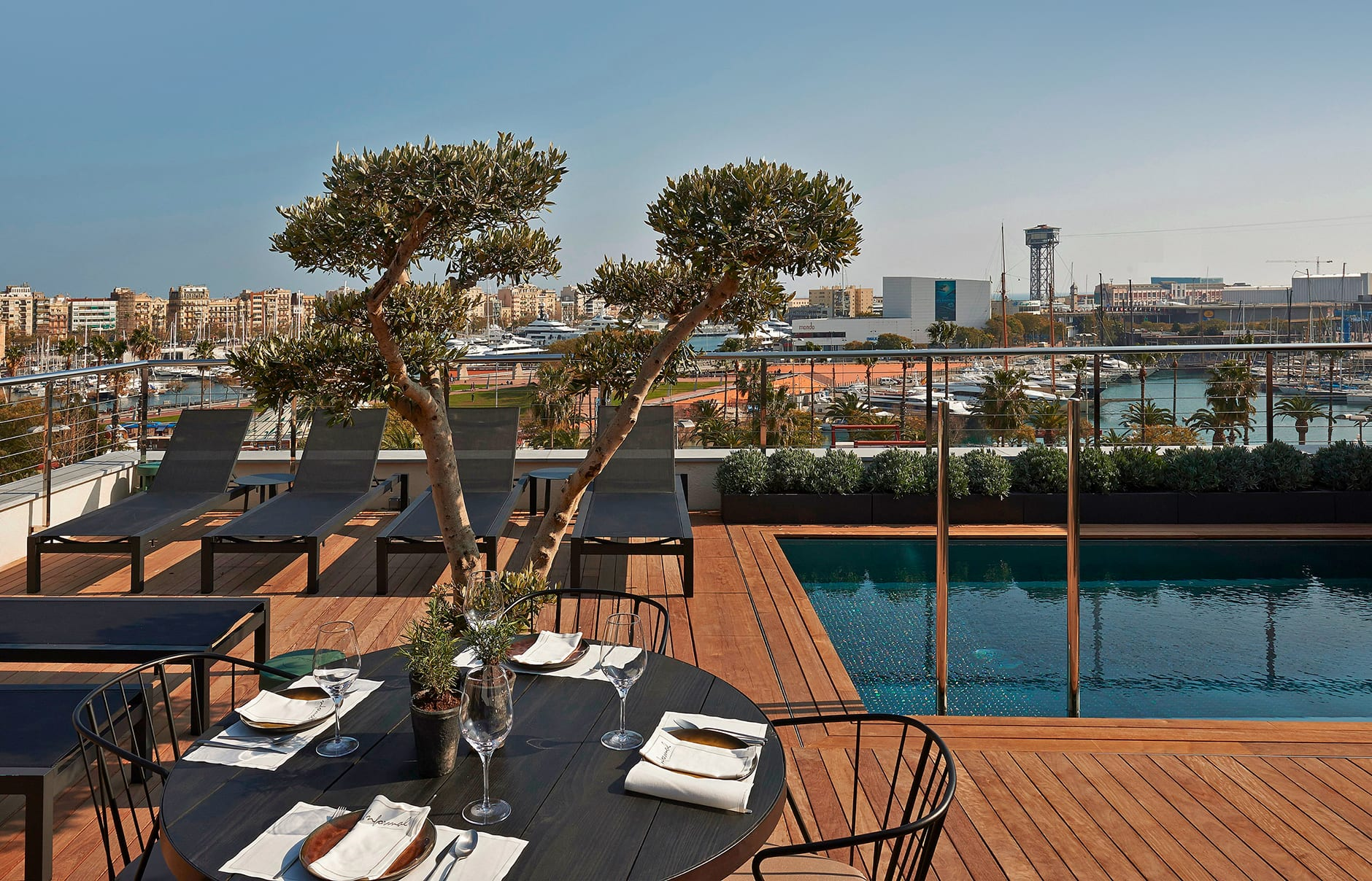 The Serras Hotel Barcelona, Spain. Hotel Review by TravelPlusStyle. Photo © The Serras