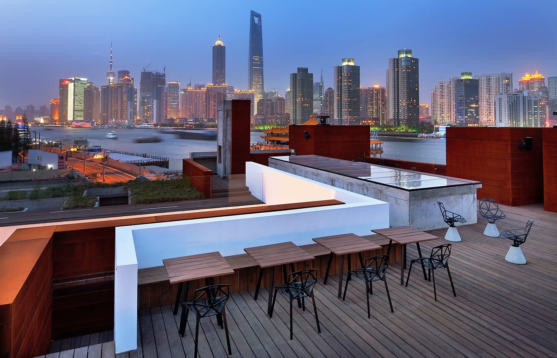 The Roof. The Waterhouse at South Bund, Shanghai, China. © The Waterhouse at South Bund