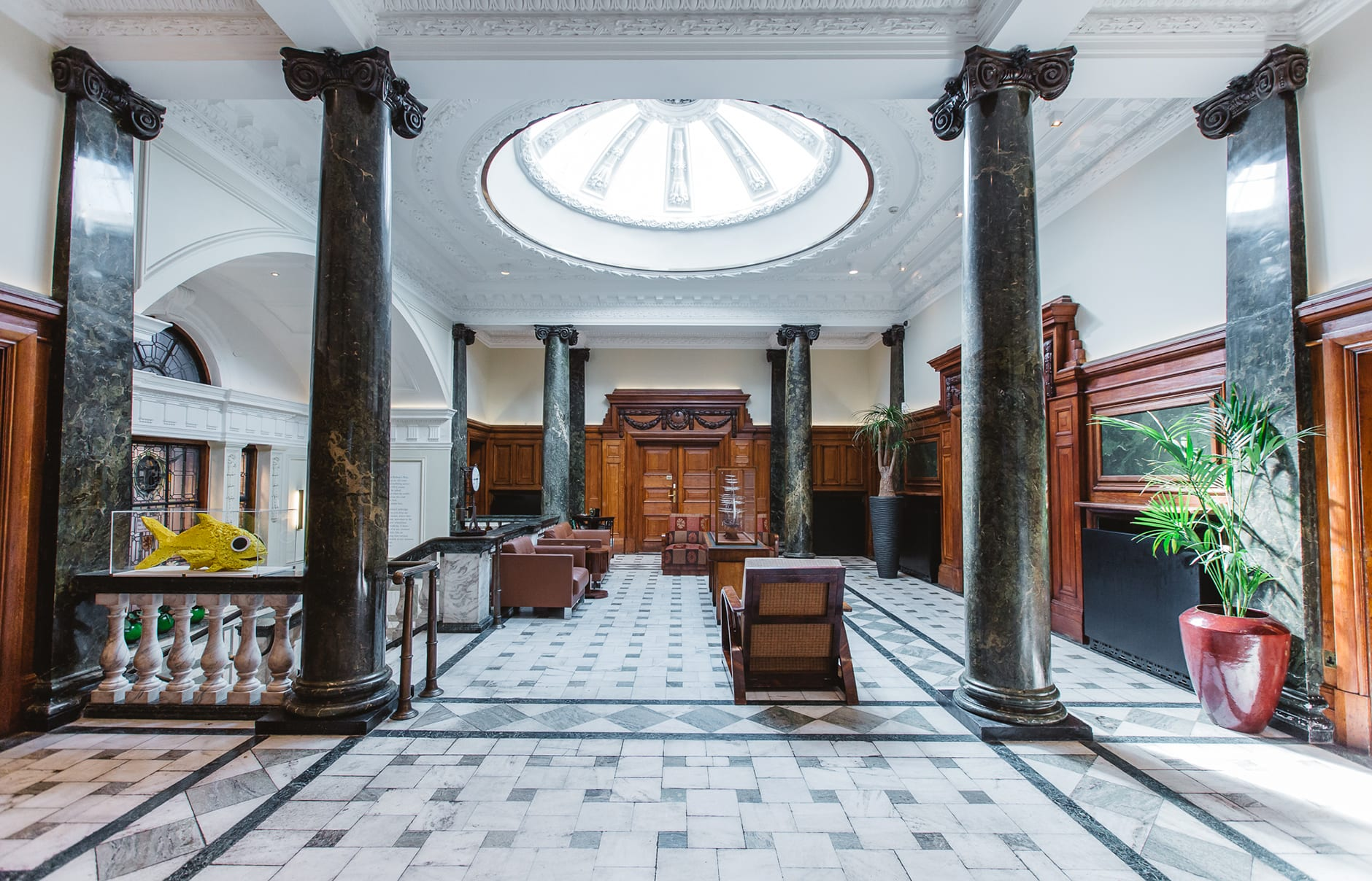 Town Hall Hotel & Apartments, London, UK. Hotel Review by TravelPlusStyle. Photo © Town Hall Hotel