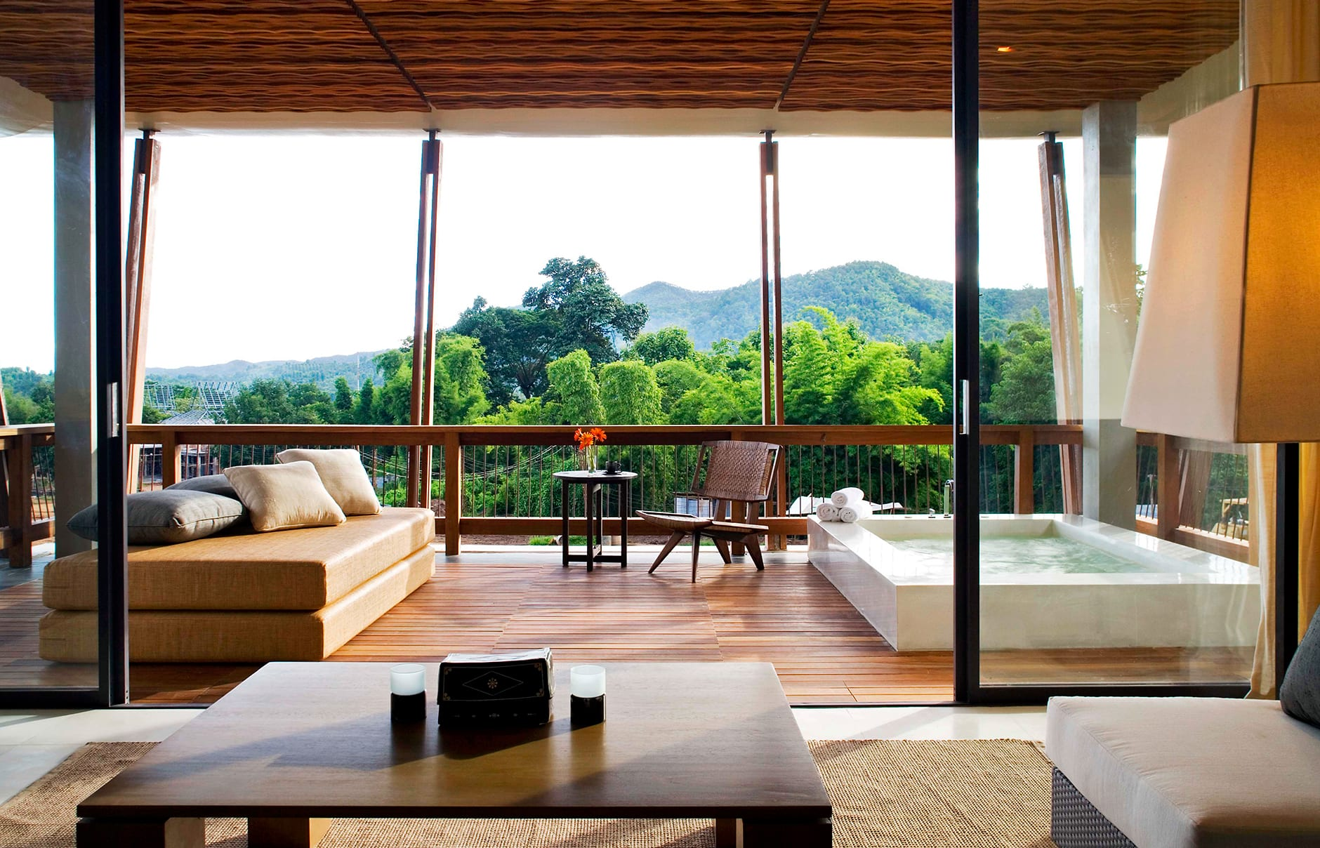 Jacuzzi Pavilion. Veranda High Resort Chiang Mai, Thailand. Hotel Review by TravelPlusStyle. Photo © AccorHotels