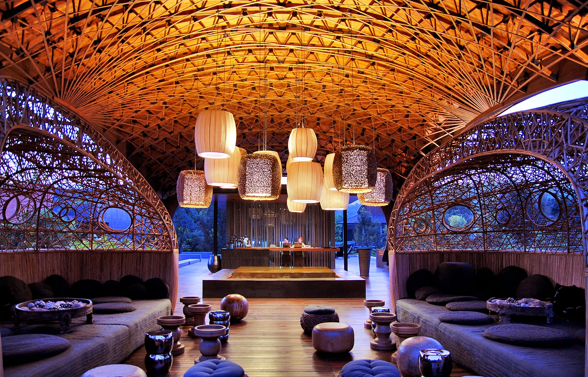 Lobby pavilion. Veranda Chiang Mai - The High Resort. Thailand. © Veranda Chiang Mai - The High Resort
