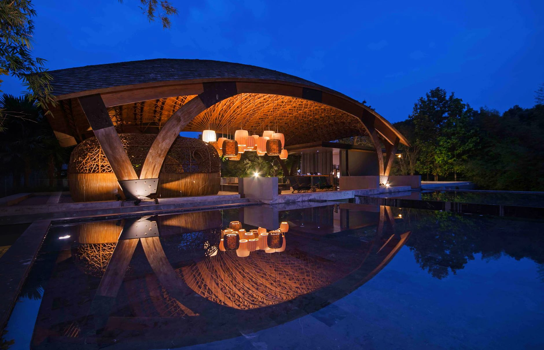 Lobby pavilion. Veranda High Resort Chiang Mai, Thailand. Hotel Review by TravelPlusStyle. Photo © AccorHotels