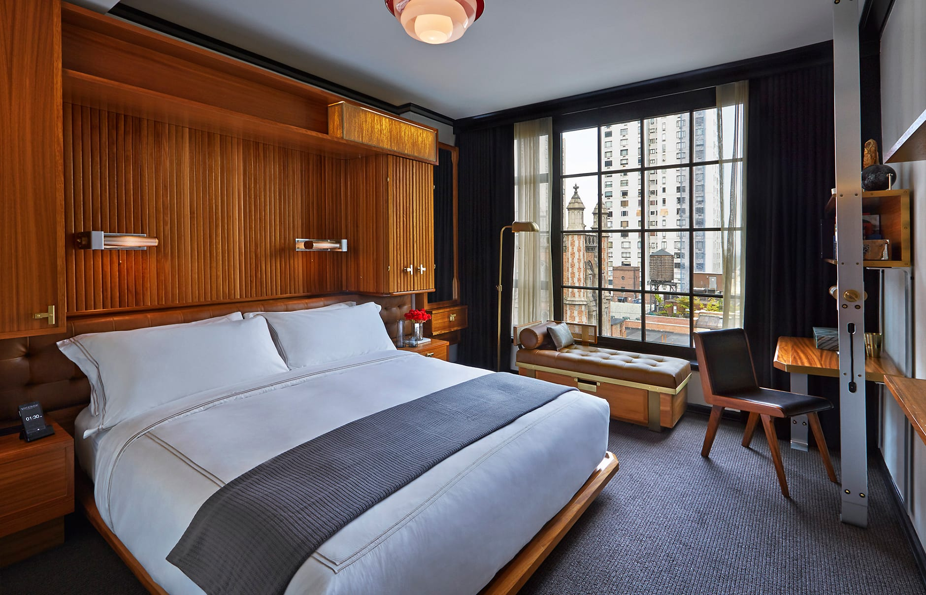Viceroy Deluxe room. Viceroy New York, USA. © Viceroy Hotel Group.