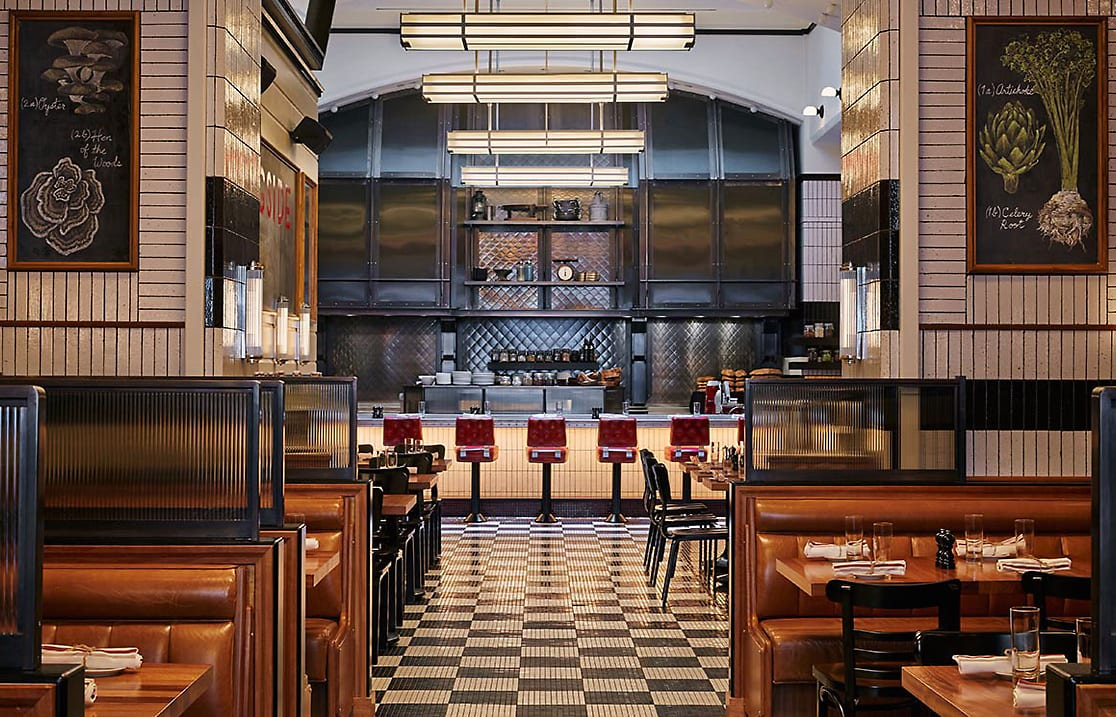 Kingside Restaurant. Viceroy New York, USA. © Viceroy Hotel Group.