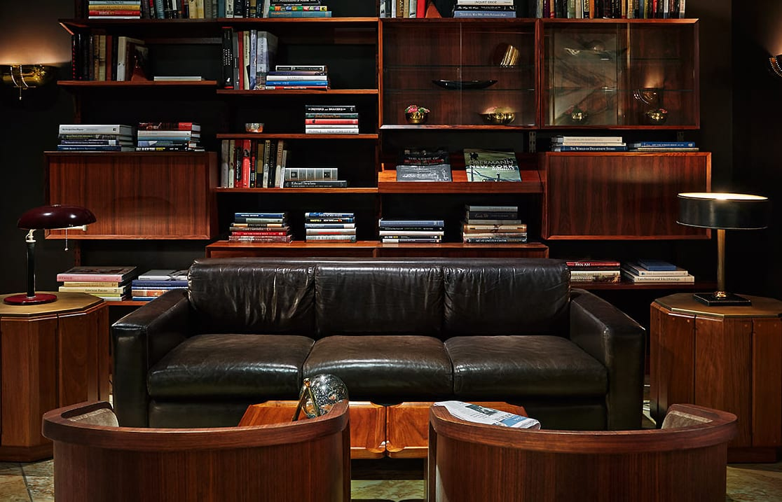 Library. Viceroy New York, USA. © Viceroy Hotel Group.