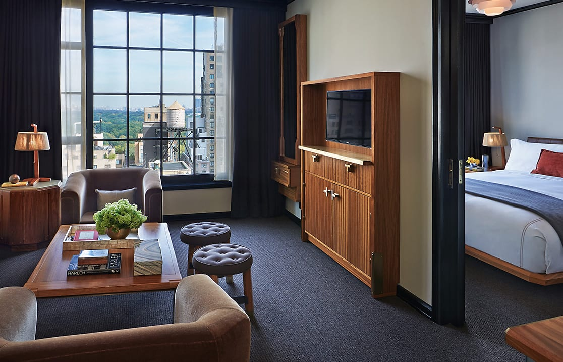 Viceroy Park Suite. Viceroy New York, USA. © Viceroy Hotel Group.