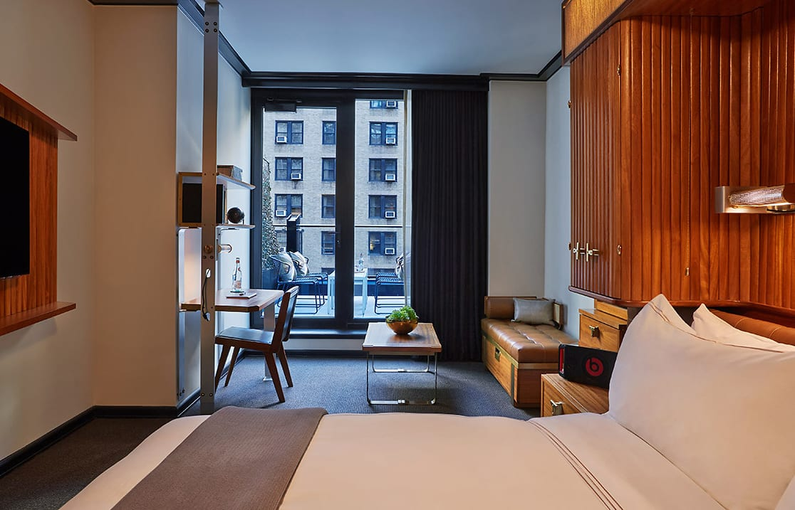 Viceroy Terrace room. Viceroy New York, USA. © Viceroy Hotel Group.