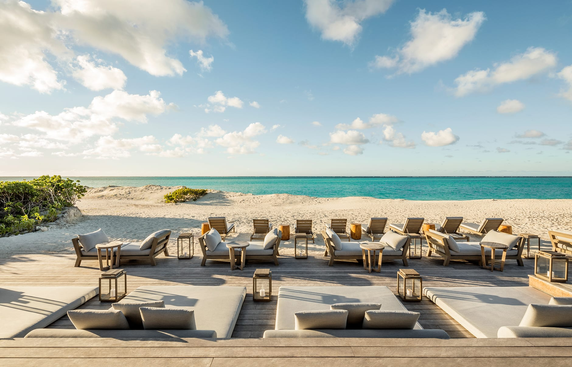 COMO Parrot Cay, Turks & Caicos, Caribbean. Hotel Review by TravelPlusStyle. Photo © COMO Hotels and Resorts