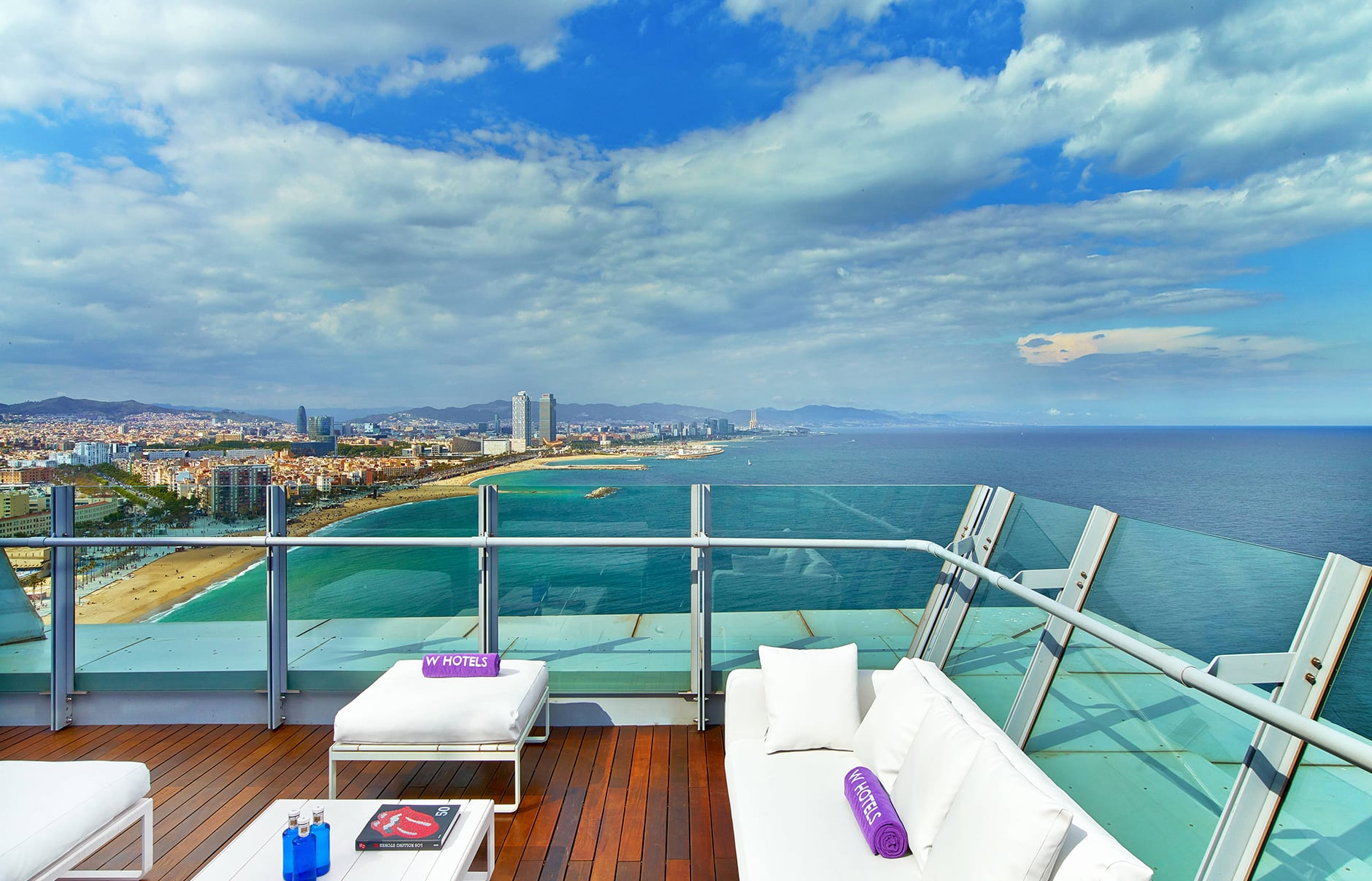 W Barcelona, Spain. Hotel Review by TravelPlusStyle. Photo © Marriott International