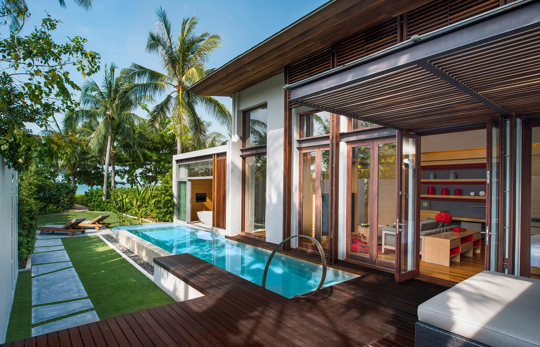 W Koh Samui, Thailand. Hotel Review by TravelPlusStyle. Photo © Marriott International